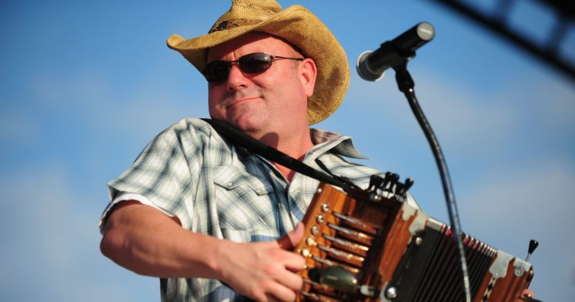 Jamie Bergeron & the Kickin' Cajuns will headline Cajun Heritage Fest 2017 in Port Arthur on April 8th.